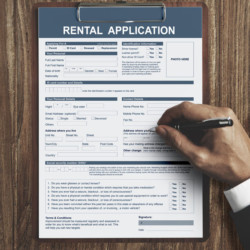 rental application how to rent
